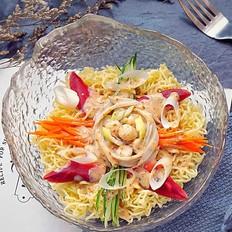 海鲜沙拉冷面丘比沙拉汁