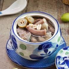 炖粉肠猪肺橄榄汤