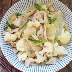 咸菜炒猪肉