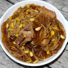 猪肉豆芽炖粉条