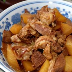 萝卜炖羊肉