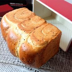 黑芝麻吐司面包