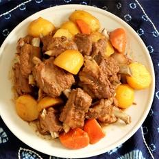 土豆胡萝卜炖排骨