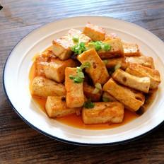 奥尔良香菇酱煎豆腐