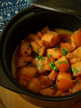 砂锅炖五花肉的做法