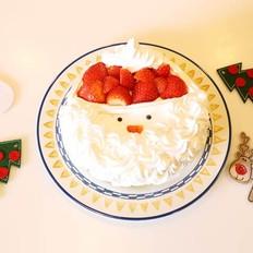 圣诞蛋糕 — 简易蛋糕做法