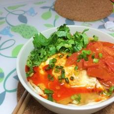西红柿鸡蛋蔬菜面
