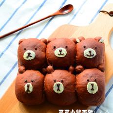 可可小熊面包
