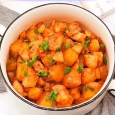 酱香土豆鸡肉
