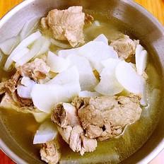 筒骨萝卜汤