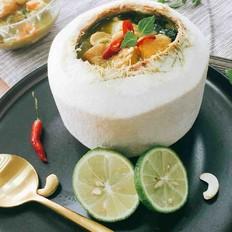时蔬青咖喱