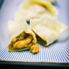 咖喱鸡肉馅水饺