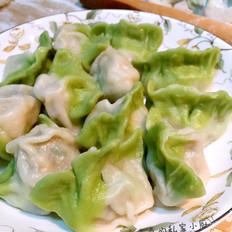 翡翠白菜饺子过年
