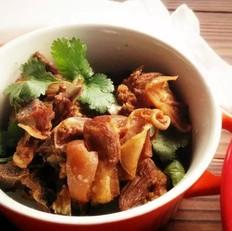 冬日暖菜:红烧羊排