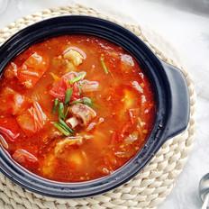 番茄炖牛尾