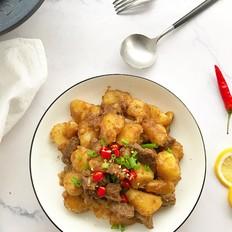 牛肉焖土豆的做法