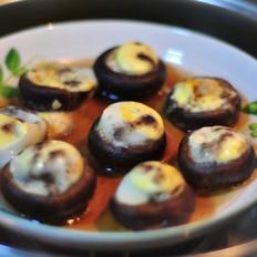 蒸香菇鹌鹑蛋
