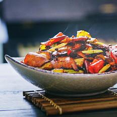 #九阳炒菜机#回锅腊肉 | 味蕾时光的做法