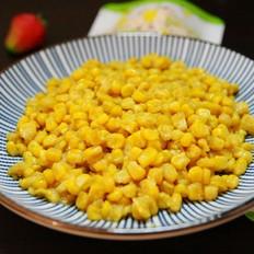 金沙玉米 金黄香酥诱人