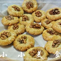 桃酥是深受长辈喜爱的点心,制做简单容易