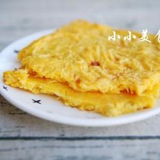烤土豆丝饼:土豆切丝,用烤箱做更有土豆味