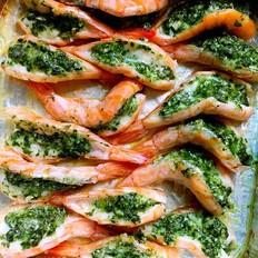 意式烤明虾