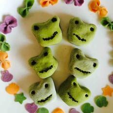 苏米 青蛙豆沙小馒头