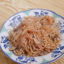 萝卜丝草菇炒粉条