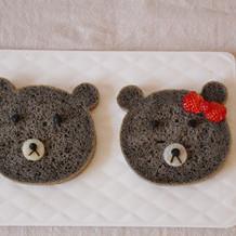 黑芝麻酱小熊面包