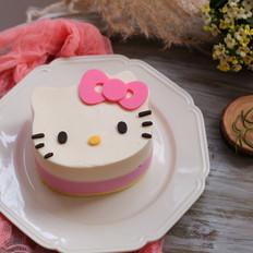 Kitty慕斯蛋糕