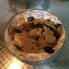 松蘑土豆片