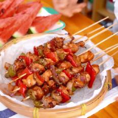 孜然烤肉串