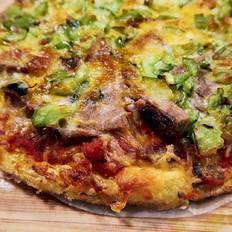 空气炸锅零碳水披萨