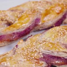 紫薯麻花饼