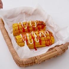 美式烤玉米