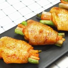 时蔬烤鸡翅