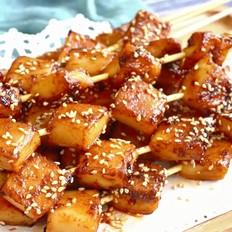 香辣烤鱼豆腐的做法