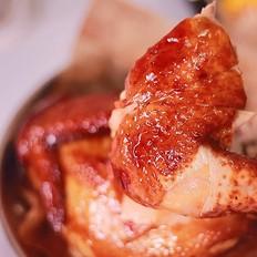 蜂蜜苹果烤鸡