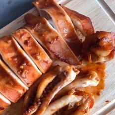 韩式辣烤鱿鱼的做法