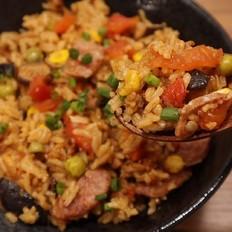 电饭煲番茄焖饭的做法