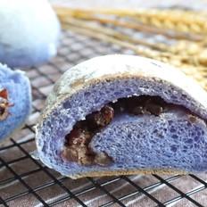 蜜豆软欧面包