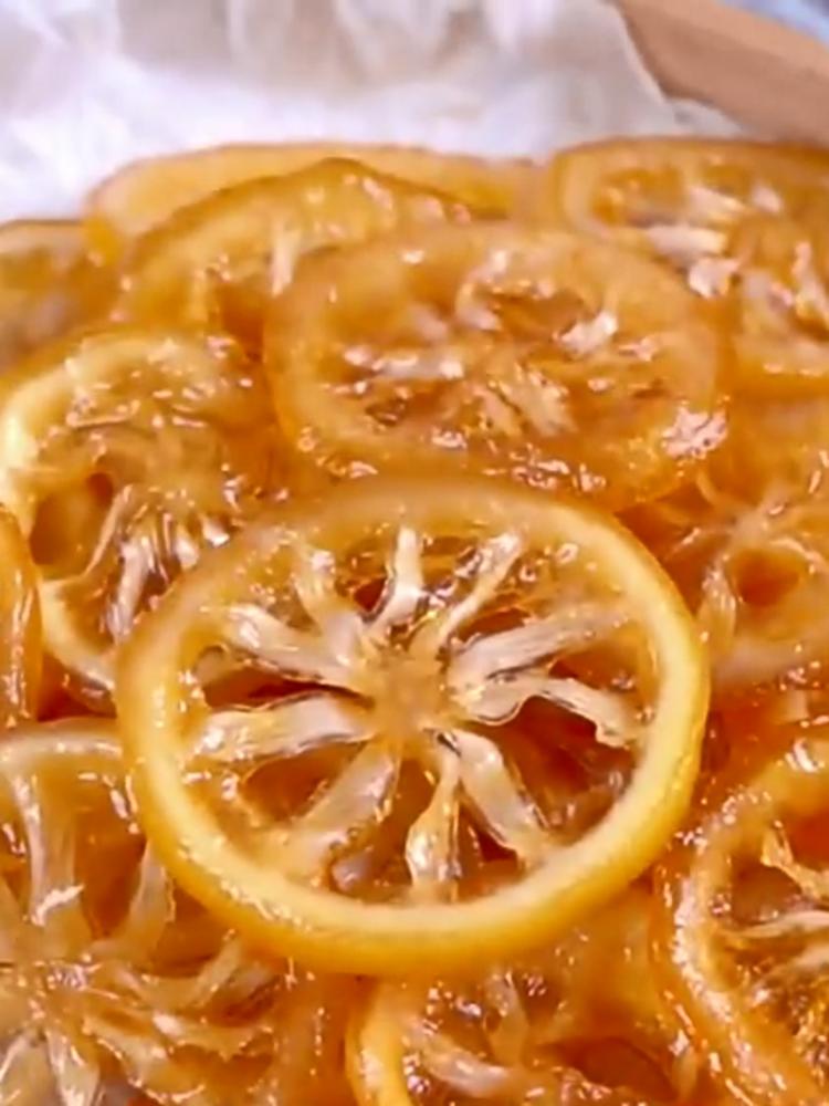 柠檬蜜饯的做法
