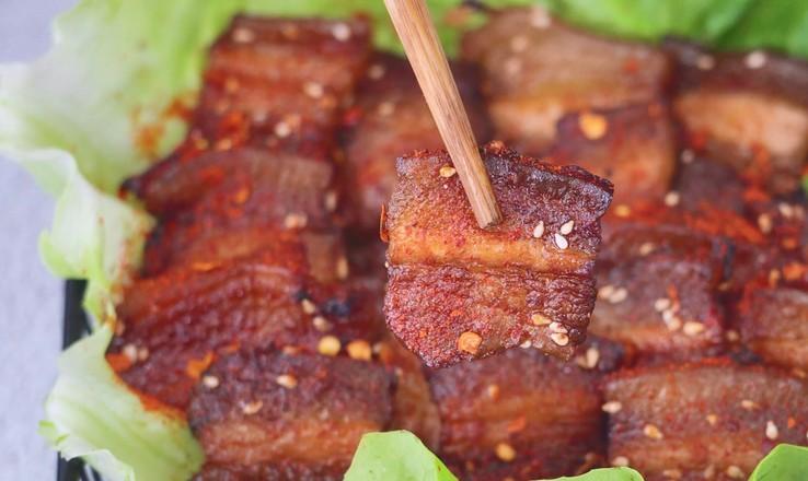 香烤五花肉的做法