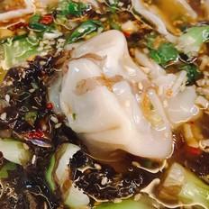 简易美食酸汤水饺