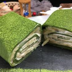 ins风网红抹茶毛巾卷(红豆、香蕉味)