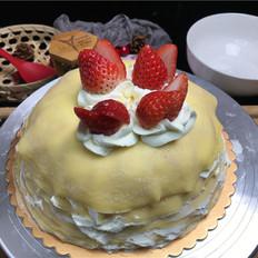 草莓香草千层&抹茶芒果千层,乖乖在家做美食,武汉加油。