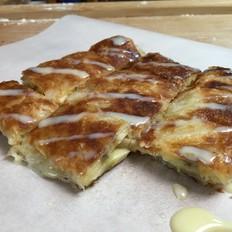 泰式香蕉手抓煎饼,香香甜甜脆脆,材料简单零失败。