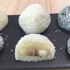 超级好吃的水果糯米糍,香甜弹牙、果香浓郁。