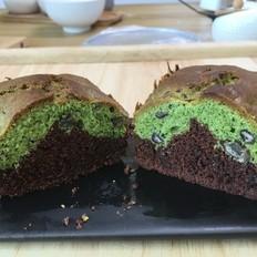 双色磅蛋糕,蛋糕中的基本款蛋糕。