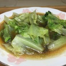 超简单蚝油生菜,健康清甜,刮油又减肥,非常快手!的做法
